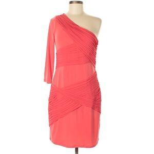 Gianni Bini Coral One Shoulder Dress